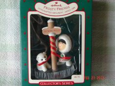 Hallmark 1988 Frosty Friends Ninth in Series
