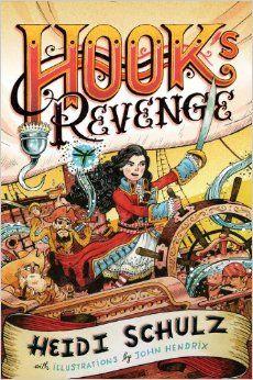 Reading For Sanity : A Book Review Blog: Hook's Revenge - Heidi Schulz