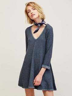 Dressing Down Pullover Dress | Made for casual lounging days, this super soft…
