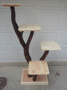 Cat tree or Cat Playground by mbonin on Etsy, $225.00. well i would have andy made it for his cats (not a cat person . . .  but bf is . . )