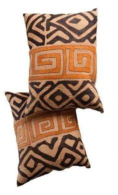 .Kuba Pillows.                    t