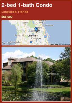 2-bed 1-bath Condo in Longwood, Florida ►$65,000 #PropertyForSale #RealEstate #Florida http://florida-magic.com/properties/74958-condo-for-sale-in-longwood-florida-with-2-bedroom-1-bathroom