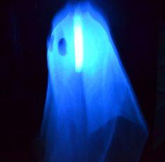 DIY floating ghost