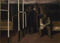 The Subway - Jose Clemente Orozco