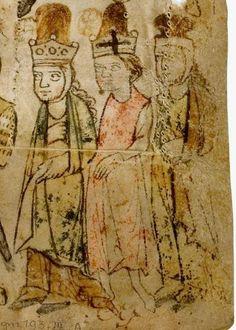 Wolfram <von Eschenbach>: Willehalm (Fragment) Sachsen (Umkreis Quedlinburg/Halberstadt), um 1270 - 1275 Cgm 193,III Folio Ar