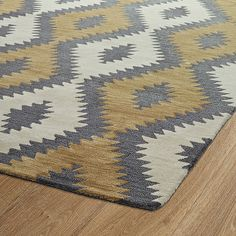 Shop the Rug - Color: Camel; Size: x by Kaleen. Made from Wool in India. This Hand Tufted Camel rug has a pile_height, perfect for a soft yet durable addition to your home. Modern Southwest Decor, Southwest Rugs, Southwestern Decorating, Southwestern Style, Oval Rugs, Rug Studio, Lodge Decor, Wool Rug, Decoration