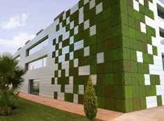 Modular tetris garden. It allows plants to extend upward rather than grow along the surface of the garden. Doesn't take a lot of space and look so beautiful at the same time.