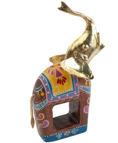 Bali Elephant Napkin Ring by Kim Seybert. A very safari and Indian themed touch to any table.