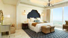 The St. Regis Abu Dhabi—Al Mushref Suite - Bedroom