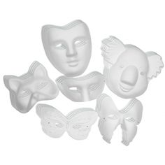Paperboard Mask Assortment, CK-4199