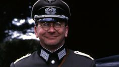 """2014 in film and TV : Sam Kelly, English actor, died June of cancer, at the age of Pictured here as Captain Hans Geering in the sitcom """"'Allo 'Allo"""" which was produced between 1982 and British Tv Comedies, British Comedy, British Actors, Funny Sitcoms, La French, Are You Being Served, Comedy Tv, The Good Old Days, Movies Showing"""