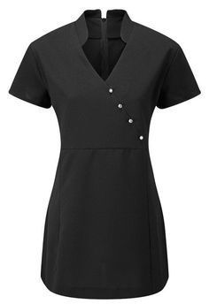 Beauty / Hairdressing / SPA / Nail Salon / Therapist / Massage Tunic / Uniform in Clothes, Shoes & Accessories, Women's Clothing, Other Women's Clothing Salon Uniform, Spa Uniform, Uniform Clothes, Style Clothes, Clothes Hanger, Beauty Uniforms, Scrubs Outfit, Work Uniforms, Salon Style