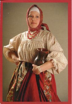 type of traditional Russian costume of peasant woman  sc 1 st  Pinterest & 49 best Halloween Costume: Baba Yaga images on Pinterest | Baba yaga ...