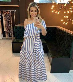 New dress midi party style Ideas Trendy Dresses, Nice Dresses, Casual Dresses, Fashion Dresses, Summer Dresses, Maxi Dresses, Summer Clothes, Awesome Dresses, Fashion Pants