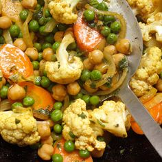 Stir-Fried Spicy Curried Vegetables with Coconut Milk   Recipes   Weight Watchers