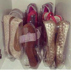Astuce pour ranger les sandales d'été... ...