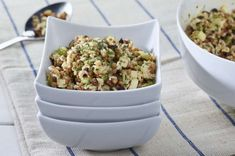 The lentil rice salad, a main dish or a quick accompaniment … - Recipes Easy & Healthy Easy Healthy Recipes, Easy Meals, Menu Simple, Main Dishes, Side Dishes, Rice Salad, School Lunch, Lentils, Cereal