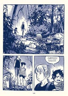 This One Summer by Mariko and Jillian Tamaki from Seite Books Storyboard, Comic Layout, Graphic Novel Art, Comic Manga, Bd Comics, One Summer, Comic Panels, Comic Styles, Comic Artist