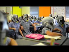 Oh goodness... Wee Waa (Australia) prepares for Daft Punk madness
