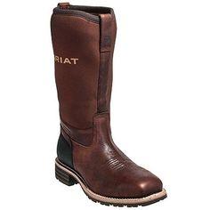 Ariat Men's Steel Toe 10014064 EH 15-Inch Waterproof Hybrid Boots