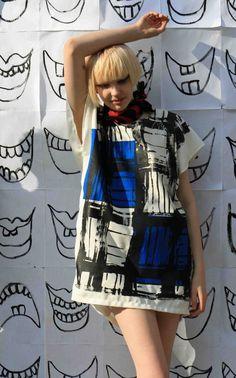 christian joy oversized kiki dress $158 #fashion