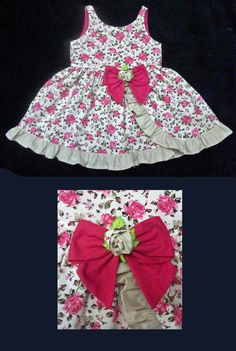 Vestido Floral Pink - 3 anos - Pink Floral Dress - 3 years - Molde Grátis no Facebook - Free Pattern in Facebook. . . . . . . . . https://www.facebook.com/groups/1594730384185604/ . . . . . . . . . . . . . . . . . .baby - infant - toddler - kids - clothes for girls - Moldes Gratuitos - Free Patterns