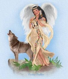"""""""Native American Angel"""" 