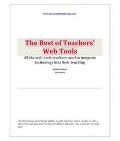 The Best of Teachers Web Tools