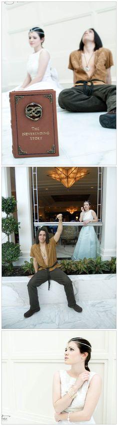 Childlike Empress & Atreyu from The Neverending Story @ Katsucon 2013 | Thanks: Hop-is-my-Hero & SoulFirePhotography
