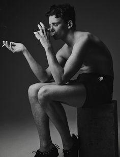 JONJO on @modelsdotcom bt #YvanFabing #fashion #editorial #modelsdotcom #malemodels #boommodels #blackandwhite #photography #fashionpic #jonjomcguire #fashioneditorial