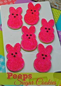 Peeps Sugar Cookie Recipe