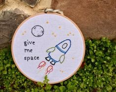 space embroidery – E