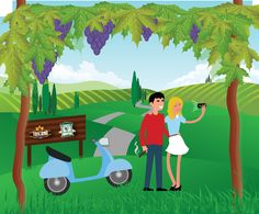 """CANTINE APERTE IN TUSCANY: """"THOSE WHO VESPA… FIND GREAT WINES"""""""