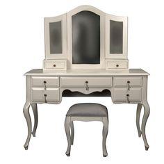 Makyaj Masası - Woodenbend - Veronica Makyaj Masası ve Puf - AltıncıCadde.com