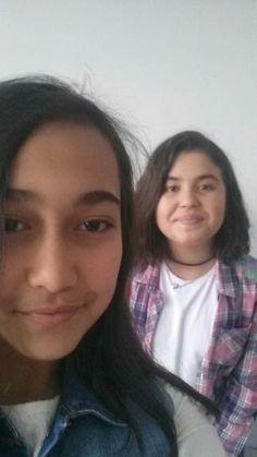 Başımın tatlı belası 💘ile selfie