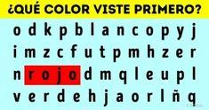 Elprimer color que veas enesta imagen dirá algo nuevo sobre ti
