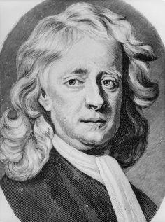 English scientist and mathematician Sir Isaac Newton - Isaac Newton, Masonic Symbols, Natural Disasters, Visualising, History, Drawings, Einstein, Science, Child