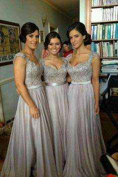 bridesmaid dress bridesmaid dresses..love the straps..
