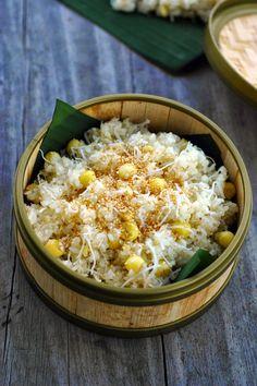 Hướng dẫn làm món xôi dừa hạt sen