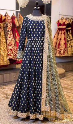Indian salwar kameez dupatta Anarkali eid sale embroidery full long ladies suits #Handmade #SalwarKameez
