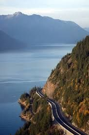 Sea to Sky Highway in BC. One of the most scenic drives in the world.