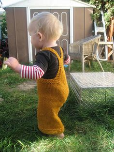 Ravelry: On the Go-veralls pattern by Heidi Lehman