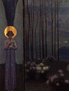 Artemis Dreaming, Gate to paradise, 1906 Wilhelm Bernatzik (1853–...
