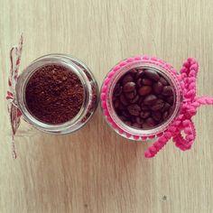 pojemniczki na kawę ze słoiczków po dziecięcym jedzeniu
