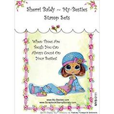My-Besties MYB111 Clear Stamp, Positively Penelope Sentiments, 4-Inch x 6-Inch Review