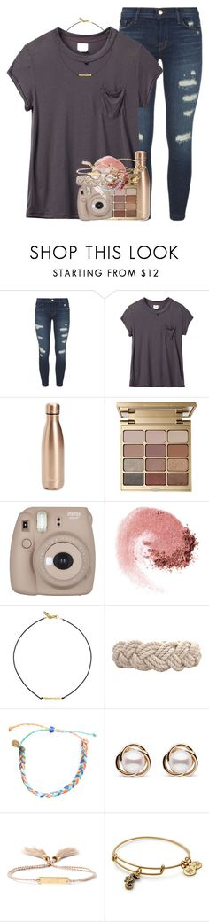 """{ georgia oh my my }"" by emilyandella ❤ liked on Polyvore featuring J Brand, RVCA, S'well, Stila, Fujifilm, NARS Cosmetics, Vanessa Mooney, Swell, Pura Vida and Trilogy"