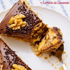 Tarta de chocolate y natillas Delicious Deserts, Yummy Food, Sweet Recipes, Cake Recipes, Bread Machine Recipes, Pastry Cake, Dessert Drinks, Sweet Cakes, Cookie Desserts