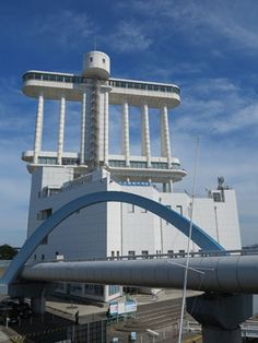 Nagoya Port Building, have a observationdeck and the Maritime museum