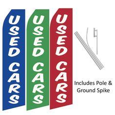 Used Cars Swooper Flag Kit, FBPP0000013597