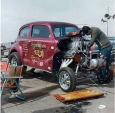 Vintage Drag Racing - Gasser - Jr. Thompson